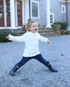 Little Girl Hunter Boots