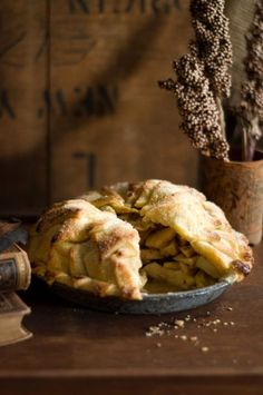 Baking Day:  mile high apple pie: