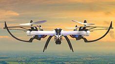 Creation® JJRC H16 Nueva Versión Yizhan Tarantula X6 - 1 Drone 4 canales 2.4GHz LCD remoto Quadcopter de control con 5.0MP cámara Hyper COI Modo Función Orientación - - Azul y blanco - http://www.midronepro.com/producto/creation-jjrc-h16-nueva-version-yizhan-tarantula-x6-1-drone-4-canales-2-4ghz-lcd-remoto-quadcopter-de-control-con-5-0mp-camara-hyper-coi-modo-funcion-orientacion-azul-y-blanco/