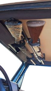 Jeep Wrangler gun rack