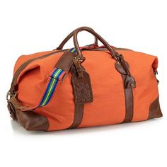 Polo Ralph Lauren Equestrian Canvas Duffel Bag from Bloomingdale\u0026#39;s on your personal digital mall.