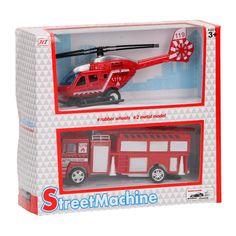 Hulpdienstenset Helikopter en Brandweerauto online kopen | Lobbes.nl