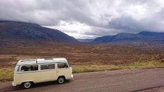 Camping in a VW - We cover the most important things to consider when planning your road trip. Some obvious and others might surprise you! Wet Weather, Vw Camper, Travel Light, Campervan, Driving Test, Campsite, In The Heights, Classic Cars, Camping