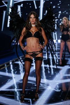 Alessandra Ambrosio Photos: Victoria's Secret Runway Show Swarovski Crystal Looks