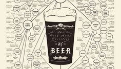 The Very Many Varieties of Beer    Learn different kinds of beer in the world with one simple infographic.