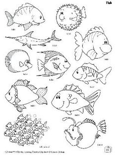 Top 30 Free printable fish coloring pages are fun
