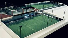 Complejo Deportivo Estación 98 - MAQUETAS MSH Football Pitch, Football Field, Indoor Soccer Field, Android App Design, Outdoor Gym, Sports Complex, Island Resort, School Design, Pavilion
