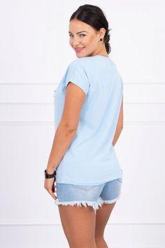 Bluza dama albastru - 48 Lei -    Compozitie:  90% bumbac ,  10% elastane -   Comanda acum!  #divashopromania #divashop #hainefemei #bluze  #fashion #fashionista #fashionable #fashionaddict #styleoftheday #styleblogger #stylish #style #instafashion #lifestyle #loveit #summer #americanstyle #ootd #ootdmagazine #outfit #trendy #trends #womensfashion #streetstyle #streetwear #streetfashion #shopping #outfitoftheday #outfitinspiration #ootdshare #trendalert #boutique #haine # Blogger Style, Fashion Addict, Outfit Of The Day, Leo, Diva, Street Wear, Street Style, Boutique, Lifestyle