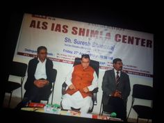 ALS Shimla center Inauguration  Dear Aspirants, You can achieve your IAS dream even in Shimla. Yes! ALS IAS is providing Civil Services Coaching at Shimla as well.   For Further Details visit our website - www.alsias.net