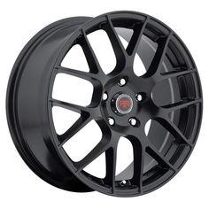 18 inch 18x8 Revolution Racing RR06 Satin black wheel rim 5x120 +40