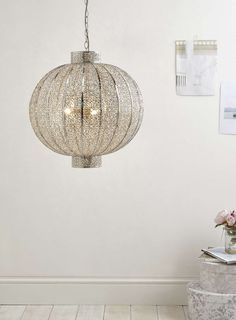 Moroccan Style Light From BHS