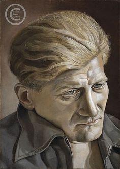 "Lucian Freud ""Portrait of a Man"" 1954 Oil on Canvas 36cmx25cm"
