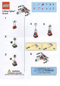 LEGO Star Wars Spielzeug R Us X-Wing Fighter - Lego Haus Ideen bauen anleitung bauen haus bauen ideen bauen rakete Lego Star Wars Mini, Star Wars Toys, Lego Design, Legos, Nave Lego, Star Wars Starfighter, Instructions Lego, Jouet Star Wars, Modele Lego