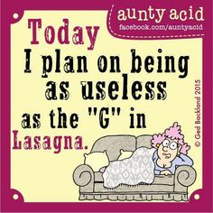 I do have these kind of day's.