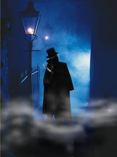 Classic depiction of Jack The Ripper stalking the streets of Whitechapel (Picture: Metro)