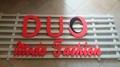 Placa para frente de loja