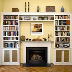 Fireplace Built-Ins by David  Marshall