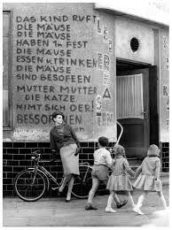Judy Dent in Berlin 1962