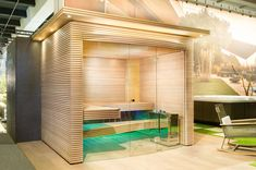 Swiss home sauna by KUENG AG