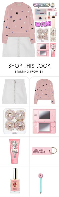 """Untitled #239"" by itzzbella ❤ liked on Polyvore featuring Être Cécile, Nintendo, Soap & Glory and Various Projects"