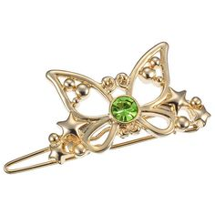 Hairpin Tinker Bell tiara clip hair accessory ($6.30) ❤ liked on Polyvore featuring accessories, hair accessories and bobby hair pins