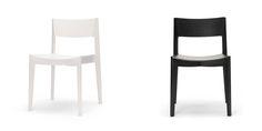 Elementary chair - Stacking American oak chair by Jamie McLellan for Feelgood Designs