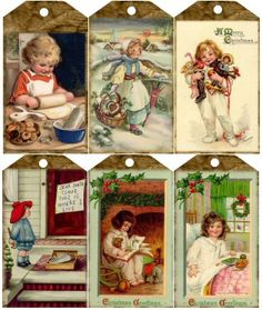 Vintage pictures of cute children
