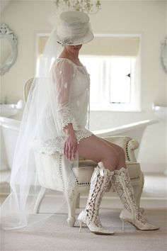 Chantilly Dreams is pleased to offer a collection of couture lace bridal boots, shoes and matching garters. This luxurious collection is handmade in Great Britain. We are the exclusive boutique for this heirloom quality line in New York. View the entire captivating collection at https://www.chantillydreams.com/Exclusive-Lace-Footwear_c_101.html