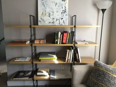 DIY IKEA Enetri Shelf hack. Enetri shelves are now continued.