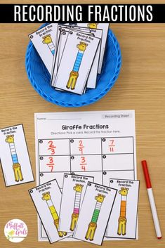 Fractions can be so much fun to practice in Grade. By this grade level, students should be well acquainted with simple fractions, and they can Frog Fractions, 3rd Grade Fractions, 3rd Grade Math, Grade 3, Dividing Fractions, Multiplying Fractions, Equivalent Fractions, Multiplication, Third Grade