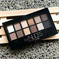 The Nudes Palette - Nude Eyeshadow Palette - Maybelline