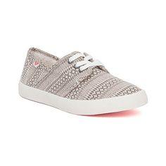 Roxy Belmont Shoe (120 BRL) ❤ liked on Polyvore featuring shoes, laced shoes, laced up shoes, lace up shoes, roxy footwear and roxy shoes