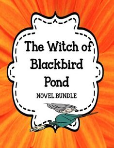 The Witch of Blackbird Pond - Novel Unit Bundle Off for 48 Hours Literary Elements Activities, Authors Purpose Activities, Character Activities, Vocabulary Activities, Writing Resources, Comprehension Strategies, Reading Comprehension, Witch Of Blackbird Pond, Cause And Effect Activities