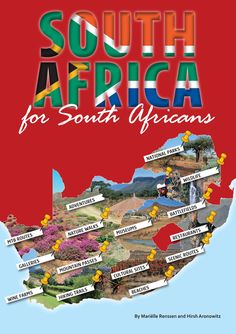 South Africa for South Africans -- MapStudio Beaufort West, Big Country, Port Elizabeth, New Holland, Snow Skiing, Biomes, Along The Way, Geography, South Africa