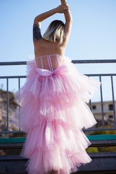Pink Tulle, Tulle Dress, Youtubers, Stylists, Greek, Skirts, Outfits, Clothes, Dresses