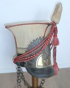 Shapska de trompette de lancier rouge, 1er Empire Napoléon | eBay!