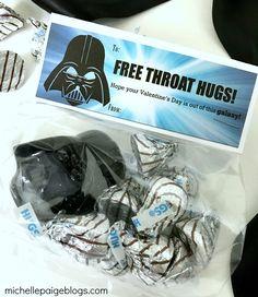 Vader Valentines-- Throat Hugs @michellepaigeblogs.com