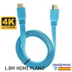 Cable Hdmi Premium Nuevo v2.0  de alta velocidad de Oro HDTV UltraHD HD 2160p 1