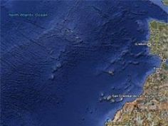 The supposedly Lost City of Atlantis from the Google Earth Findings