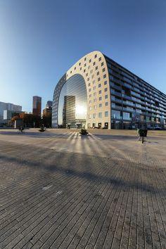 Markthal Rotterdam in volle glorie
