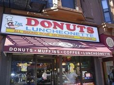 7th Ave Donuts Luncheonette, 324 7th Ave. (Park Slope)