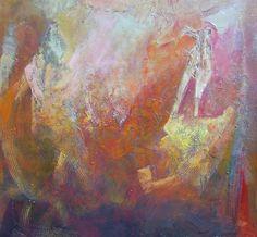 Personaje  tecnica mixta sobre lienzo  100 x 100 cms