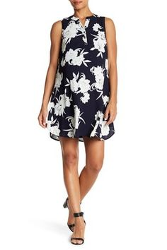 Floral Sleeveless Dress (Maternity)