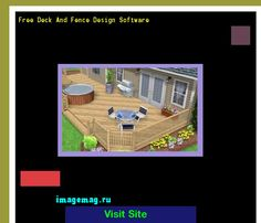 Free Deck And Fence Design Software 072542 - The Best Image Search