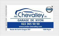 Sachets de sucre publicitaires en forme de rectangle Garage de Nyon / Chevalley Sa Nyon  Réalisation: www.publigestion.ch