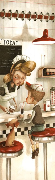 VARSITY SODA'S AFTER SCHOOL , I REMEMBER WELL! VANILLA COKES WERE THE BEST, WITH ICE CREAM THEY WERE SWELL !