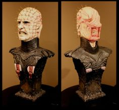 Clive Barker RARE Hellraiser Pinhead Chatterer Movie Prop Bust | eBay  I want these in my life SO BADLY.
