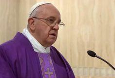 Papa Francisco: El cristianismo no es una doctrina filosófica y solo puede entenderse con la Cruz