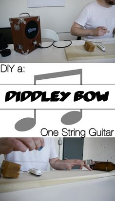 Instead of spending a ton of money on a guitar, why not #DIY your own diddley bow? This fun instrument is made using a glass bottle, scrap wood, and a little creativity.