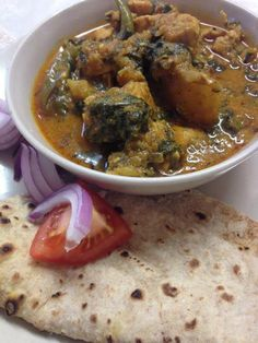 MONICA'S SPICE DIARY-INDIAN FOOD BLOG Has A collection of her recipes and food related thoughts, One of our favorite recipes from her blog is PUNJABI CHICKEN & SPINACH CURRY http://spicediary.com/2014/10/08/punjabi-chicken-spinach-curry/